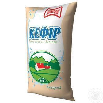 Кефир обезжиренный Злагода 910 г