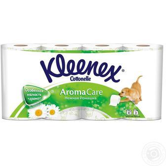 Туалетний папір Kleenex Aroma Care 8шт