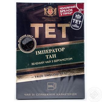 Чай зелений ТЕТ 100г Чай Grace 25пак