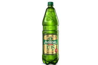 Пиво «Львівське 1715» світле, 1,2л