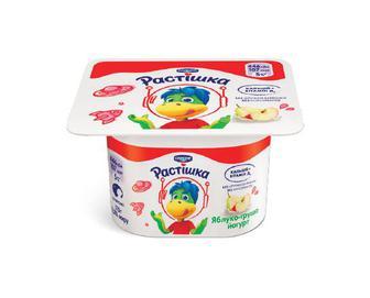 Йогурт «Растішка» 2% жиру яблуко-груша, 115 г