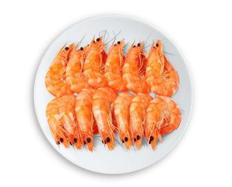 Креветки в глазурі варено-морожені, кг