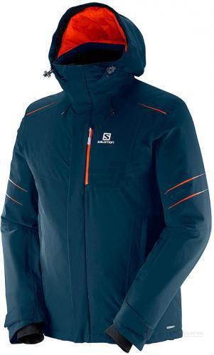 Куртка Salomon L38299000 р. S темно-синій L38299000