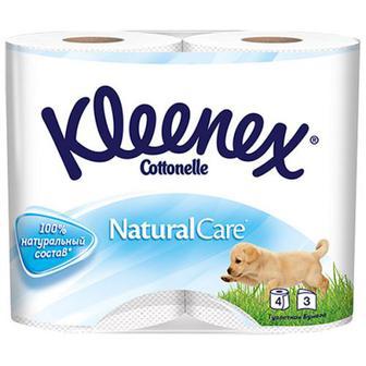 Туалетний папір Kleenex Natural 4шт