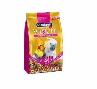 VitaLife Probiotic Australian. Корм с пребиотиком для австралийских попугаев (нимф), 650 гр. Vitakraft
