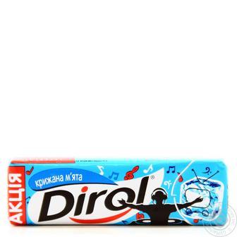 Гумка жувальна Льодяна м'ята Diroll 14 г