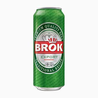 Пиво світле Brok, 0,5 л