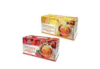 Чай З ароматом лісових ягід/ тропічних фруктів, чорний байховий дрібний Рoзумний Вибір (20 ф/п х 1,5 г)