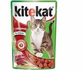 Корм для дорослих котів  Kitekat, 100 г