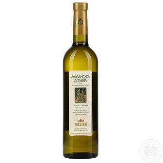 Вино Вардіані Алазанська ДОлина червоне н/с /Ркацителі біле сухе 0,75л