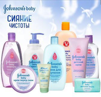Засоби по догляду за малюком johnsons Baby