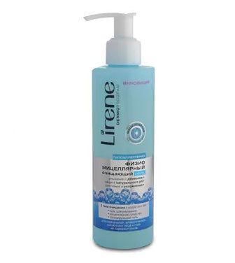 Гель для очищення обличчя Lirene фізіо-міцелярний 200мл