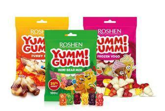 Цукерки желейні Yummi Gummi, 100г