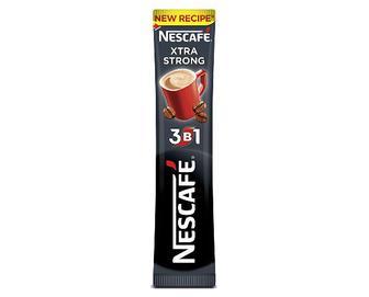 Напій кавовий Nescafe Xtra Strong мікс, 3 в 1 розчинний 13г