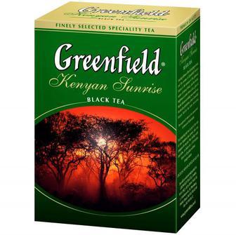 Чай Greenfield Kenyan Sunrise чорний листовий 100г
