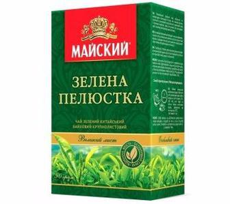 Чай зелений Зелена пелюстка Майський 85г