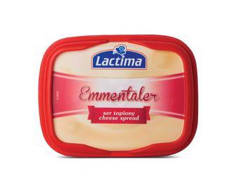 Сир плавлений Lactima 52,5% жиру «Емменталь»,  130 г