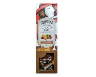 Шоколад молочний Mendiants, Premiya Select, 90 г