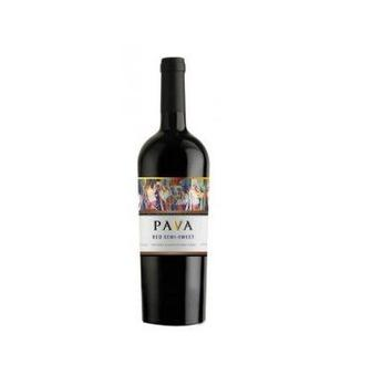 Вино PAVA красное белое, п/сл 0,75 л