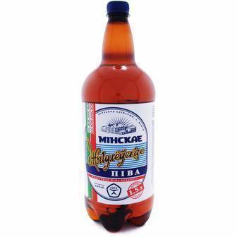 Пиво Мінське Жигулівське 1,5л