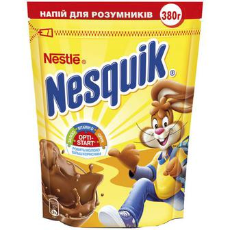 Напій Nesquik Opti-Start швидкорозч. з какао 380г