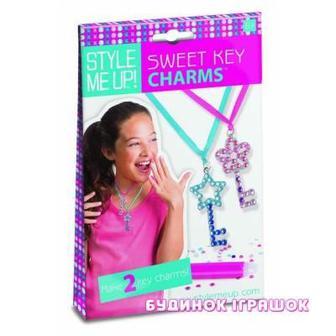 Набор для изготовления подвесок Sweet key charms Style Me Up (409)