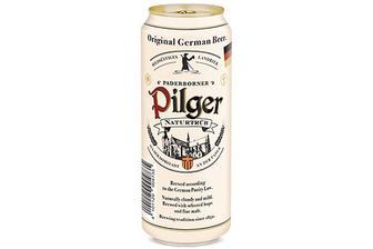Скидка 35% ▷ Пиво Paderborner Pilger світле нефільтроване, 0,5л