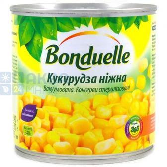 Консервована кукурудза, 340 г, горошок, 400 г Bonduelle