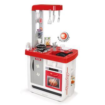 Игровой набор Интерактивная кухня Bon Appetit с аксессуарами Smoby