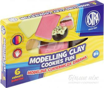 Моделіна Кондитерська забава 6 кольорів 304114001