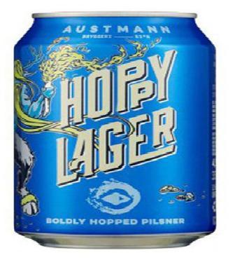 Austmann Bryggeri Hoppy Lager Boldly Hopped Pilsner 0.33мл