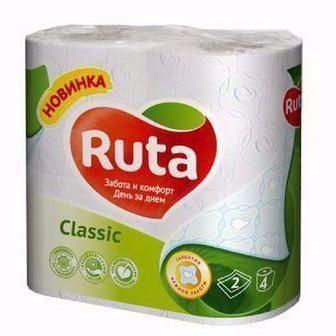 Туалетний папір Ruta 4шт