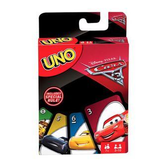 Настольная игра UNO Тачки 3 Mattel Games (FDJ15)