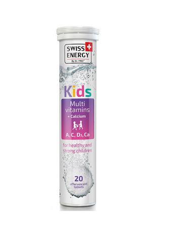 Витамины шипучие Swiss Energy Kids №20
