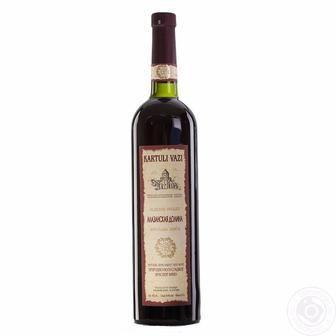 Вино Алазанська Долина біле напівсолодке  Картул іВазі 0,75 л