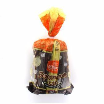Скидка 29% ▷ Хлеб Бородинский с семенами подсолнечника резаный Рум'янець, 500г