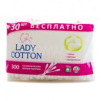 Палочки ватні  Lady Cotton 300шт