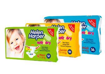 Підгузники HelenHarper Soft&Dry 3,4,5 Midi