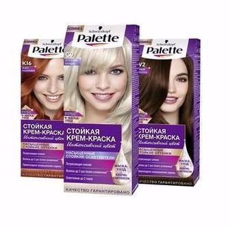 Фарба для волосся Palette інтенсивний колір