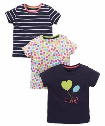Чарівні футболки - 3 шт. від Mothercare