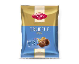 Цукерки «АВК» шоколадні «Трюфель молочний» 200г