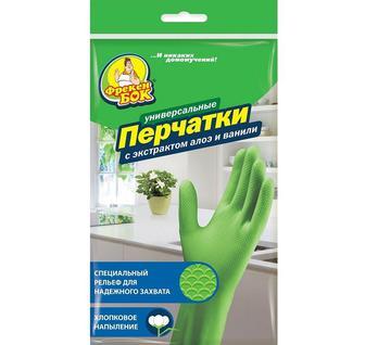 Перчатки резиновые Фрекен Бок размер М 1шт