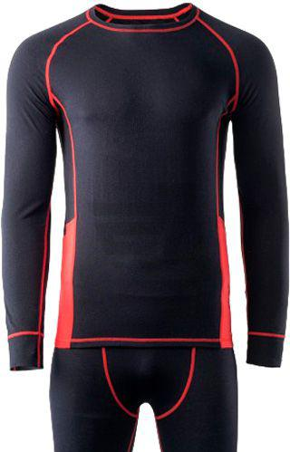 Скидка 40% ▷ Термофутболка Hi-Tec Alpine Set-Black/High Risk Red-1 ALPINE_SET-BLACK/HIGH_RISK_RED M чорний