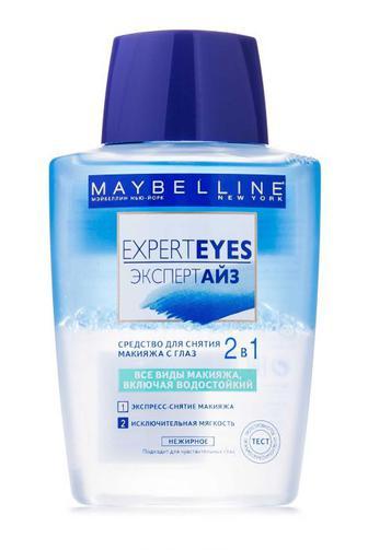 Средство для снятия водостойкого макияжа Maybelline New York Expert Eyes, 125мл