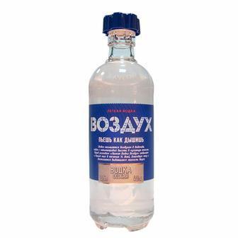 Водка Особая   Воздух 40%, 0,5 л