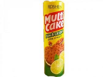 Крекер Roshen Multicake fun&crispy лайм 135г