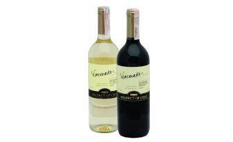 Вино Каберне Совіньон- Блан, Мерло Напівсолодке біле, червоне Вайнмейкер 0,75 л