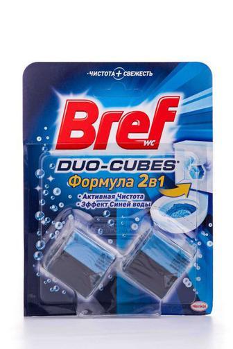 Чистящие кубики для туалета Bref Актив, 100г