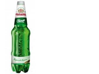 Пиво Світле 4,5% пет, Оболонь, 1,2л