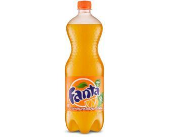 Напій Fanta з апельсиновим смаком, 1,5 л